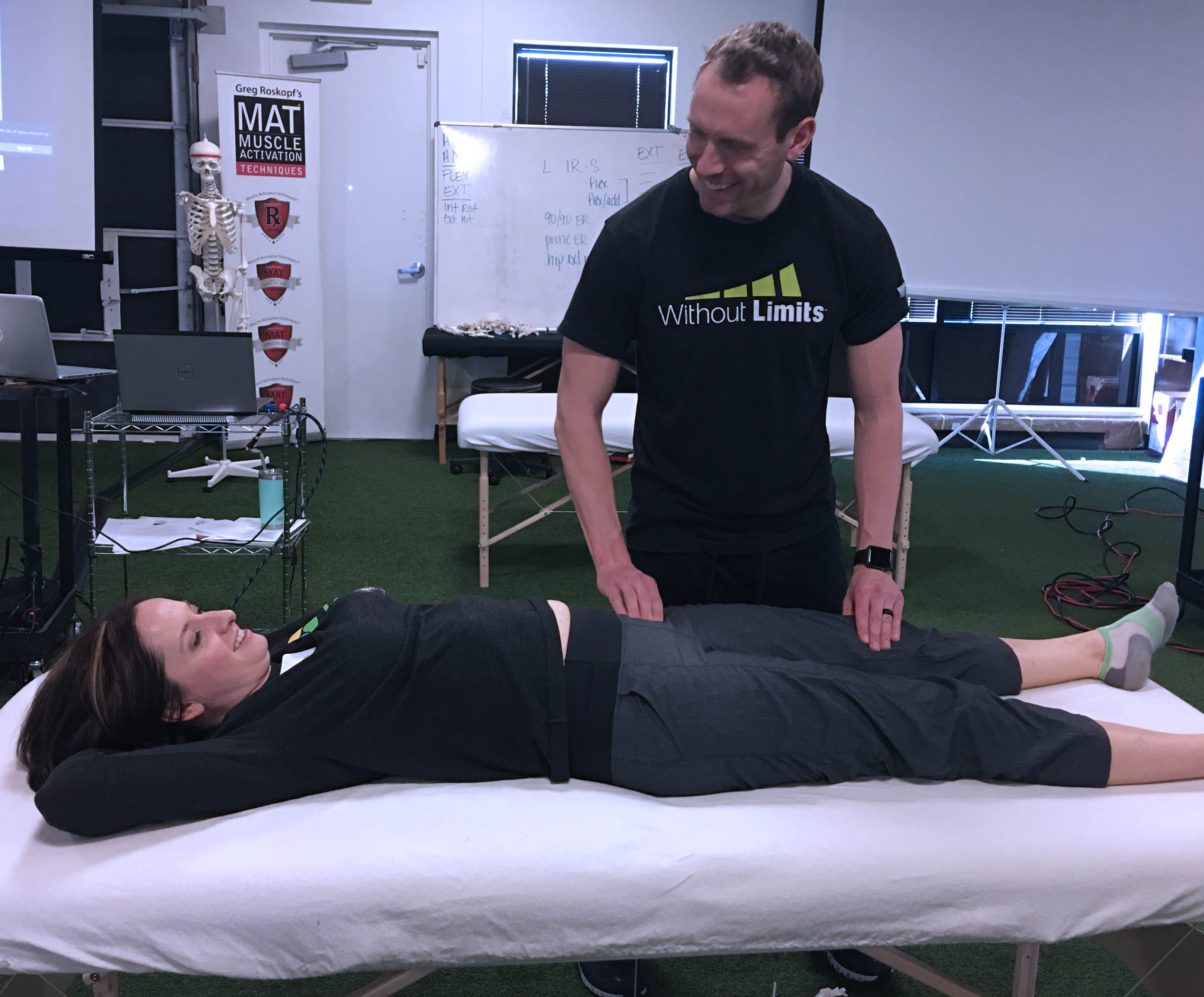 Muscle Activation Techniques® Lower Body Program Students