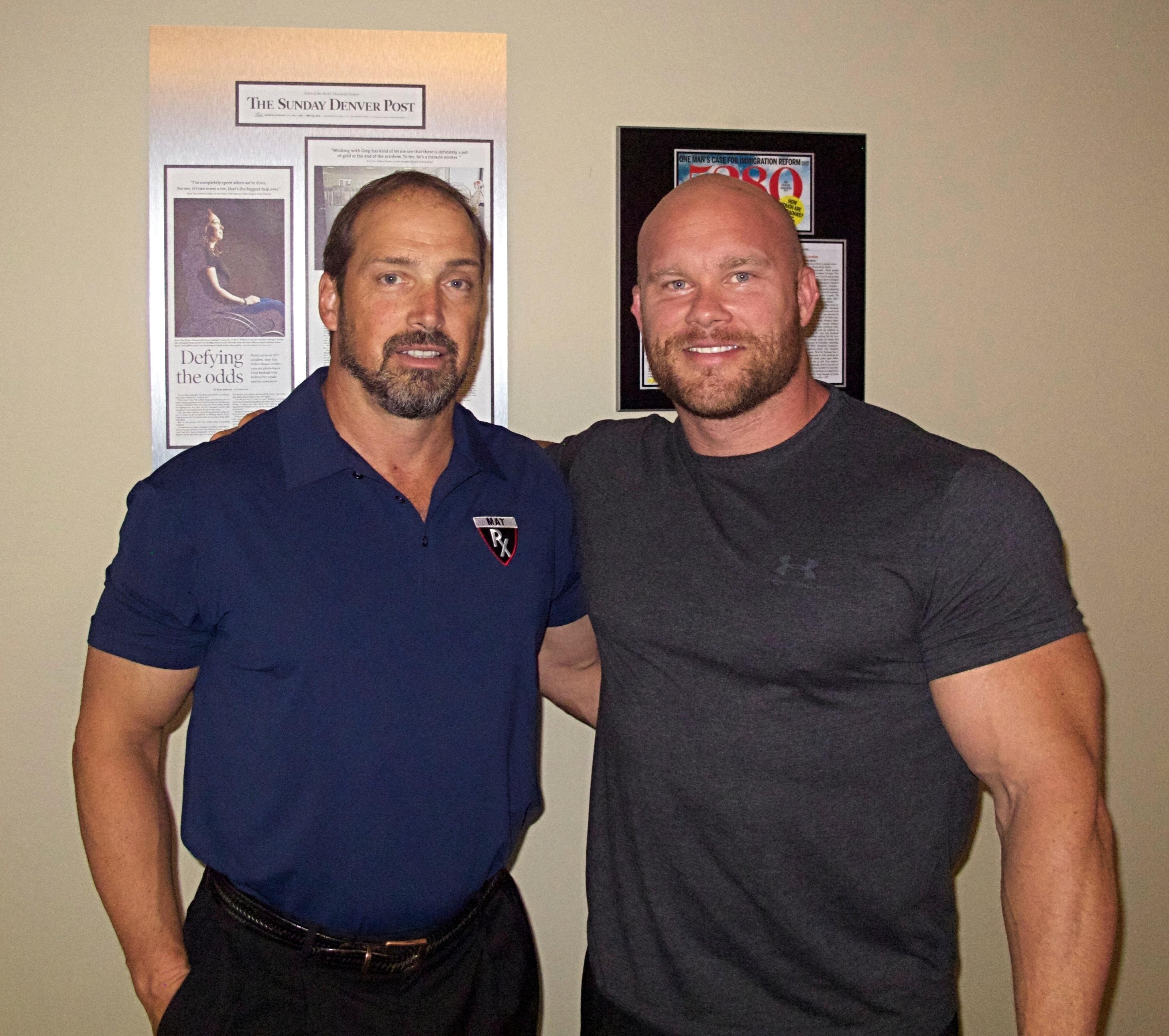 IFBB Pro Ben Pakulski and Greg Roskopf