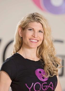 successful Yoga Intructor, Lauren Eirk