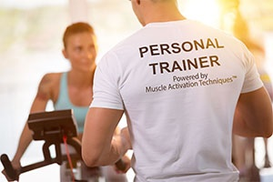 Personal Trainer Powered by Muscle Activation Techniques